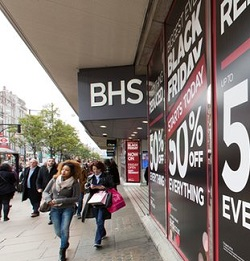 Image for Government report says leadership failures led to BHS collapse